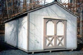 gable shed virginia
